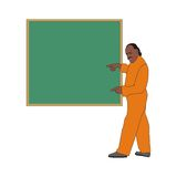 Old teacher Royalty Free Stock Photography