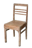 Old teak chair Royalty Free Stock Images