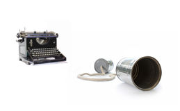 Old technology Stock Images