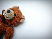 Old teddy bear royalty free stock photography