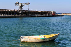 The old Tel Aviv Port Area Royalty Free Stock Photo