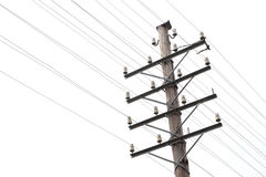 Old telegraph and telephone line Royalty Free Stock Photography