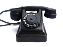 An old telephon with rotary dial Royalty Free Stock Photography