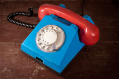 Old telephone royalty free stock photos