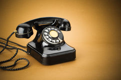 Old telephone Stock Images