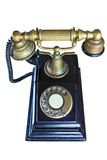The old telephone Stock Photo
