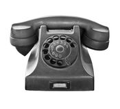 Old telephone stock image