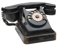 Old Telephone Stock Photo