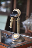 Old Telephone Antique Brass Stock Photos