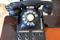 Old telephone Stock Photography