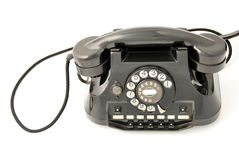 Old Telephone black Royalty Free Stock Photos