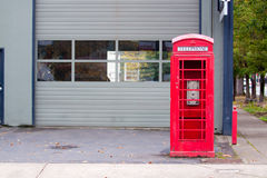 Old Telephone Booth Stock Images