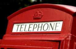 Old telephone booth Stock Photos