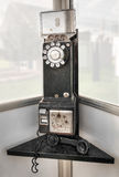 Old Telephone Booth Royalty Free Stock Photo
