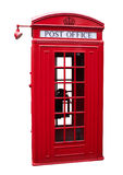Old Telephone Box. An old UK telephone box Stock Images
