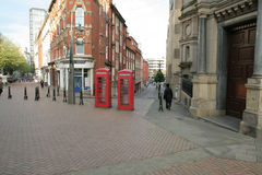 Old Telephone Boxes Stock Photography