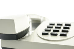 Old telephone closeup Royalty Free Stock Images