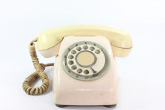 An old telephone dail Stock Photography