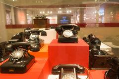 Old Telephone in Eretz Israel Museum Royalty Free Stock Photo