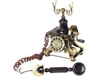 Old Telephone hook Stock Photography
