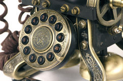 Old telephone keypad Stock Images
