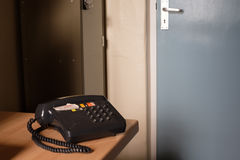 Old Telephone in an Old Office Royalty Free Stock Photo