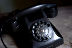 Old telephone. Old phones and nostalgia of other times Royalty Free Stock Image