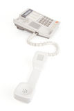 Old Telephone with pick up receiver Stock Photos