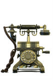Old Telephone. Picture of a very old rotary telephone Royalty Free Stock Photos