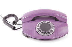 An old telephone. Stock Image