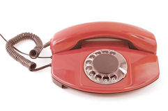 An old telephone. Royalty Free Stock Photo