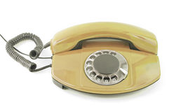 An old telephone. Royalty Free Stock Image