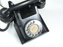 Old Telephone with Steel dial Stock Photography