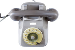 Old telephone, vintage technology Royalty Free Stock Images