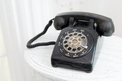 Old telephone. Royalty Free Stock Photos