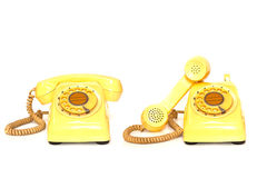 Old telephones Royalty Free Stock Images
