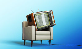 Old television Royalty Free Stock Images
