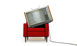 Old television Royalty Free Stock Photography
