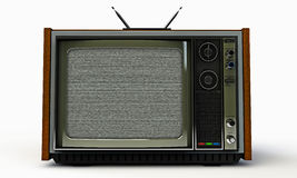 Old television Royalty Free Stock Photos