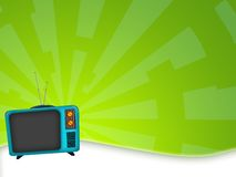 Old television. Illustration of an old television retro style Stock Photography