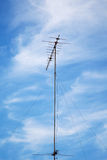 Old television antenna Stock Photos