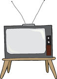 Old Television Stock Image