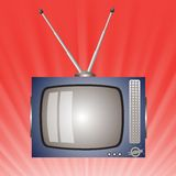 Old television Stock Images