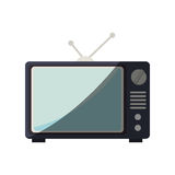 old television isolated icon Stock Image