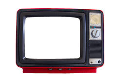 Old television Stock Photos