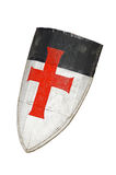 Old templar or crusader shield Royalty Free Stock Images