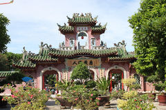 Old temple. Hoi An, Viet Nam royalty free stock photo