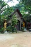 Old temple. In the forest Royalty Free Stock Image