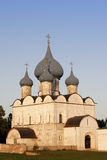 Old temple. The old temple from brick in Suzdal city, Russia.  Golden Ring of Russia Stock Image