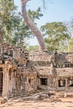 A old temple in Angkor Stock Photography